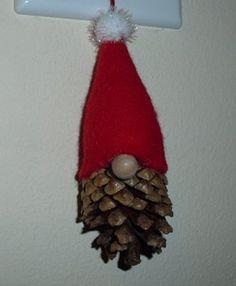 tomte christmas gnome ornament 2 more christmas crafts gnome tomten . Gnome Ornaments, Pinecone Ornaments, Ornament Crafts, Diy Christmas Ornaments, Christmas Decorations, Pinecone Christmas Crafts, Homemade Christmas Tree, Homemade Ornaments, Christmas Gnome
