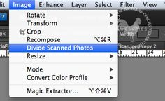 Looks like I may need to update my photoshop. Scan divide is an option I could really use.