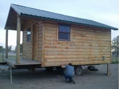 Timber Frame Cabin by mt mike http://www.cabinbuilds.net/timber-frame-build-by-mt-mike