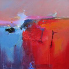"Highland Legend ll 30"" x 30"" Oil on Canvas #peterwileman #abstract #abstractlandscape #contemporaryart #colour"