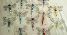 A while ago I tried my hand at wire crafts after discovering this tutorial on wire and bead dragonflies. The tutorial is clear and easy to ...