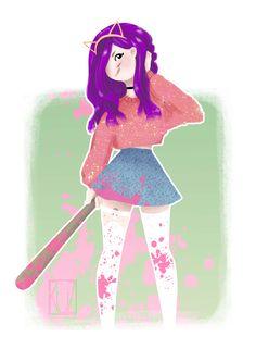 #basebollbat#girl
