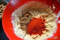 condimente pentru hummus zaatar sare piper usturoi lamaie iaurt grecesc (2) Hummus, Tahini, Ethnic Recipes, Food, Red Peppers, Essen, Meals, Yemek, Eten