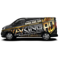Design #10 by ssrihayak | Audio visual / Electrical company - Van needs some COLOUR!