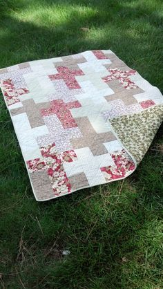 A Prayer Quilt I made for my best friend Susie!