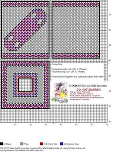 Open your heart tissue holder Plastic Canvas Coasters, Plastic Canvas Stitches, Plastic Canvas Tissue Boxes, Plastic Canvas Crafts, Plastic Canvas Patterns, Tissue Box Holder, Tissue Box Covers, Needlepoint Patterns, Cross Stitch Patterns