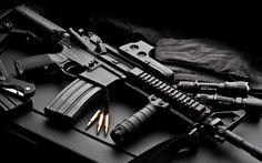 "It reads: ""Black Rifles Matter."" Linc's sign protests calls to ban ""assault rifles. M4 Carbine, Revolvers, 9mm Pistol, Assault Weapon, Assault Rifle, Home Defense, Weapons Guns, Guns And Ammo, Colt M4"