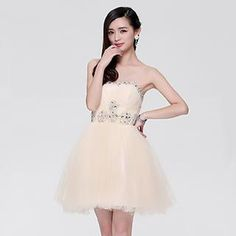 Buy 'Beautiful Wedding – Diamante Strapless Mini Party Dress' with Free Shipping at YesStyle.com.au. Browse and shop for thousands of Asian fashion items from China and more!