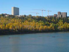 University of Alberta overlooking the North Saskatchewan River