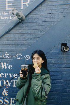 Yu Jin, Insta Posts, Puns, Korean Fashion, Winter Jackets, Photoshop, Kpop, My Love, Babies
