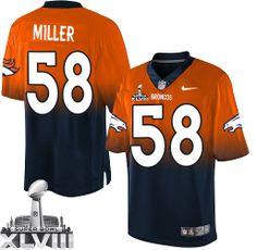 Von Miller Elite Jersey-80%OFF Nike Von Miller Elite Jersey at Broncos Shop 7c9576b35
