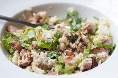 Make your own Chipotle chicken burrito bowl