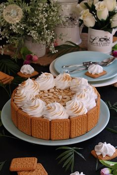 Creamy cake of dulce de leche (without oven) - Desserts City Chocoflan Recipe, Sugar Free Carrot Cake, Tres Leches Cake, Tortilla, Candy Store, Oreos, Nutella, Sweet Recipes, Cake Decorating