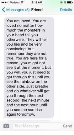 11 Texts People With Borderline Personality Disorder Would Love to Get on Bad Days