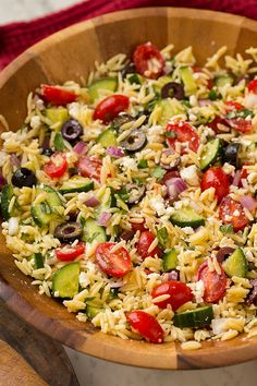 Greek Orzo Salad | Cooking Classy