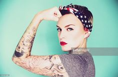 Pin Up Woman. Photo Credit: Rekha Garton - 511217281. gettyimages.com. Why Being an INTJ Female is Great. Alwaysuttori.com