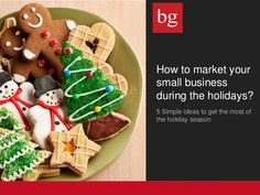 How to market your small business during the holidays?  http://www.slideshare.net/businessglory/how-to-market-your-small-business-during-the-holidays
