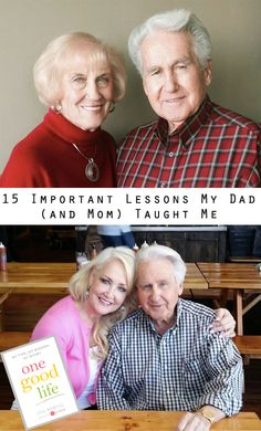 Happy Father's Day! Today's post celebrates my dad and his best lessons :-)