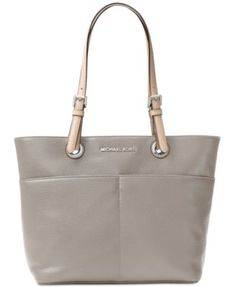 2c12d0f3e09854 Michael Kors Jet Set Soft Leather Top Zip Tote & Reviews - Handbags &  Accessories - Macy's