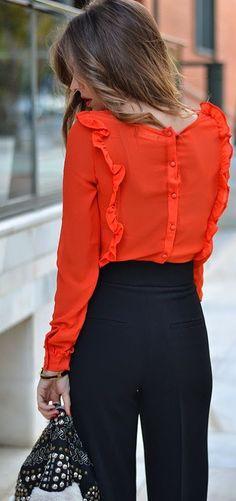 #rüschen #bluse