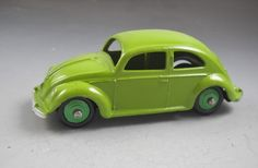 Dinky Toys Meccano Ltd England #181 Volkswagon Green Beetle No Box #DinkyToys #Volkswagen