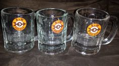 3 A&W Root Beer Mugs  1968 Logo  Very Nice by InclusiveVintage