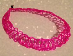 Brand new stretchy pink tattoo choker// One size fits all