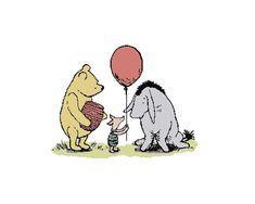 Cross Stitch Pattern PDF: Classic Pooh Eeyore's by LCStitchery