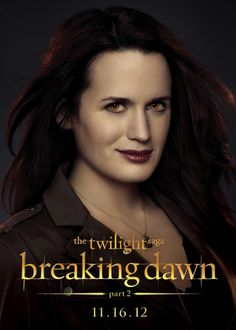 "Elizabeth Reaser is ""Esme"" in 'The Twilight Saga: Breaking Dawn – Part 2' http://numet.ro/bd2"