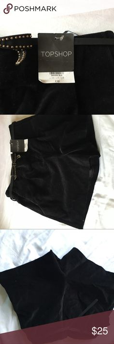 Velvet shorts New with tags never worn Topshop Shorts Skorts