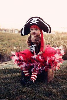 Disfraz de piratilla para niñas