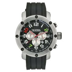 TW Steel Men's TW608 Quartz Stainless Steel Case Black Chronograph Dial Rubber Strap Watch TW Steel. $402.93. Casual watch. Durable mineral crystal protects watch from scratches. Quartz movement. Water-resistant to 100 M (330 feet). Case diameter: 50 mm. Save 55%!