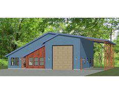 Criteria For Storage Shed Building Plans - Shed Artchitect Metal House Plans, Pole Barn House Plans, Garage House Plans, Pole Barn Homes, Cabin Plans, Shed Plans, House Floor Plans, Rv Garage, Pole Barns