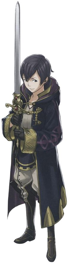 Fire Emblem: Awakening - Morgan(m) I was kinda surprised that I had a daughter(or son) for my own character.