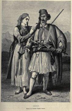 Theodore Valerio - Albanais 1875
