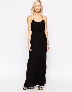 Vero+Moda+Cross+Back+Maxi+Dress