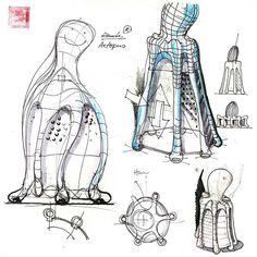 Hakan Gürsu designer d'origine Turc Fondateur de Designnobis www.hakangursu.com Conception Sketches