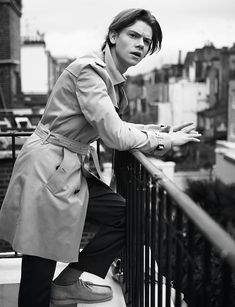 Thomas Brodie-Sangster for Issue 12, 'Young Hearts', by Cecilie Harris. Fashion by David Nolan. / Thomas Brodie-Sangster / News / Boys by Girls