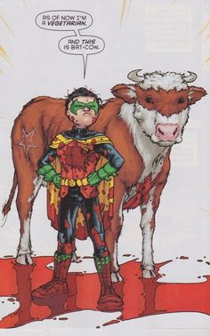 nananananananana....Bat Cow!