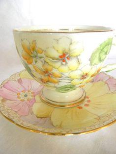 sweet tea cup and saucer