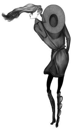 shu84: Laura Laine Fashion illustration