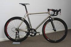 Van Nicholas PlanetX | Ti Pro | Readers Rides - Planet X Bikes