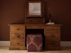 Teak Wooden Dressing Table
