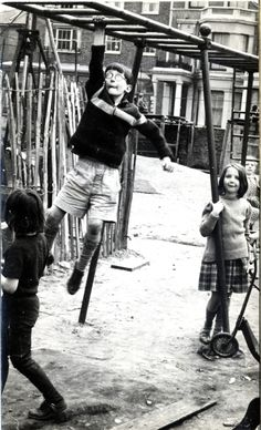 Dangling | The Notting Hill Adventure Playground in Telford Road 60/70s