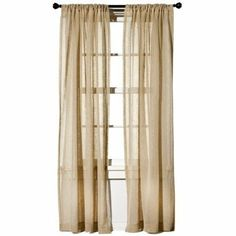 Target Home Faul Linen Window Panel