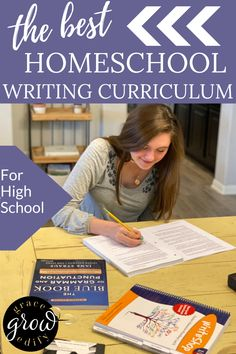 Homeschool Writing Curriculum for Middle School