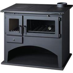 Cuisinière à bois VIKI 10,5kW - 12,5kW - MHCPBCVIK105 - Plomberie sanitaire chauffage