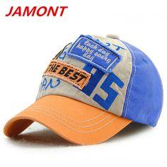 JAMONT kis baseball caps letter number embroidery summer sun hats boys autumn winter snapback casquette cotton adjustable cap #Affiliate