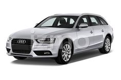 Front View of silver 2014 Audi A4 Ambition Luxe Wagon