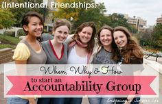 Wow - this article is fantastic! @Embracingsimple walks you through how and why to set up an accountability group! A great read!!